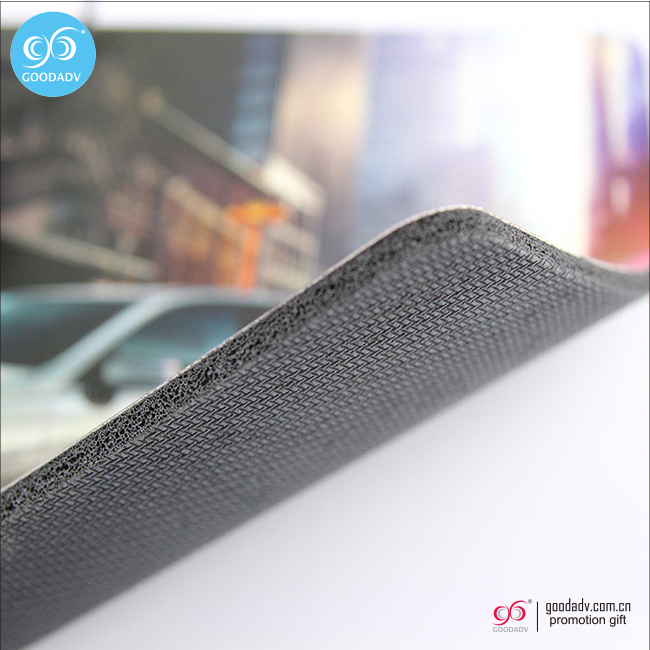 Chinese manufacture cheap promotional rubber mouse pad with logo printing