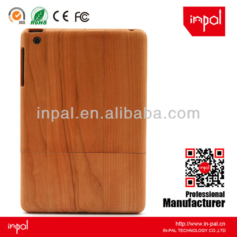 shenzhen oem manufacture supply for ipad mini wood case - cherry wooden case