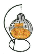 Cane Moon Lounge Garden Rocking Wicker Basket Hammock Egg Papasan Pod With Stand Cover Replacement Outdoor Hanging Chair