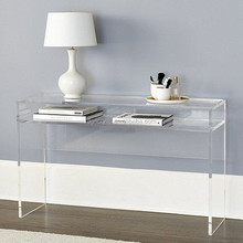 Unique lucite furniture living room center table acrylic kids table