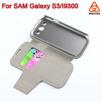 For samsung galaxy S3 wholesale price genuine leather case