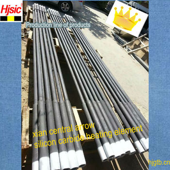 Refractory Sic Heating Elements
