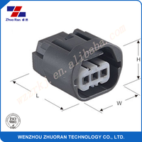 6819-0734 3pin electrical waterproof male female wire cable auto connector Manufacturer