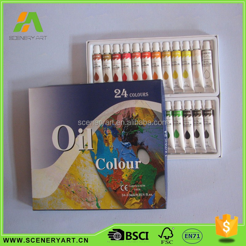 China manufacturers powder oil paint color