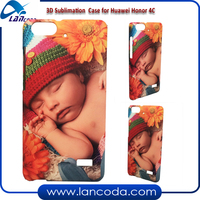 Lancoda made 3D sublimation mobile case cover for Honor 4C