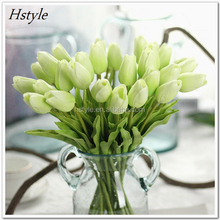 PU Mini Tulipa Decoration For Wedding Artificial Flower China FZH190
