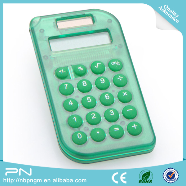 Mini Solar Electronic Calculator for Promotion Gifts