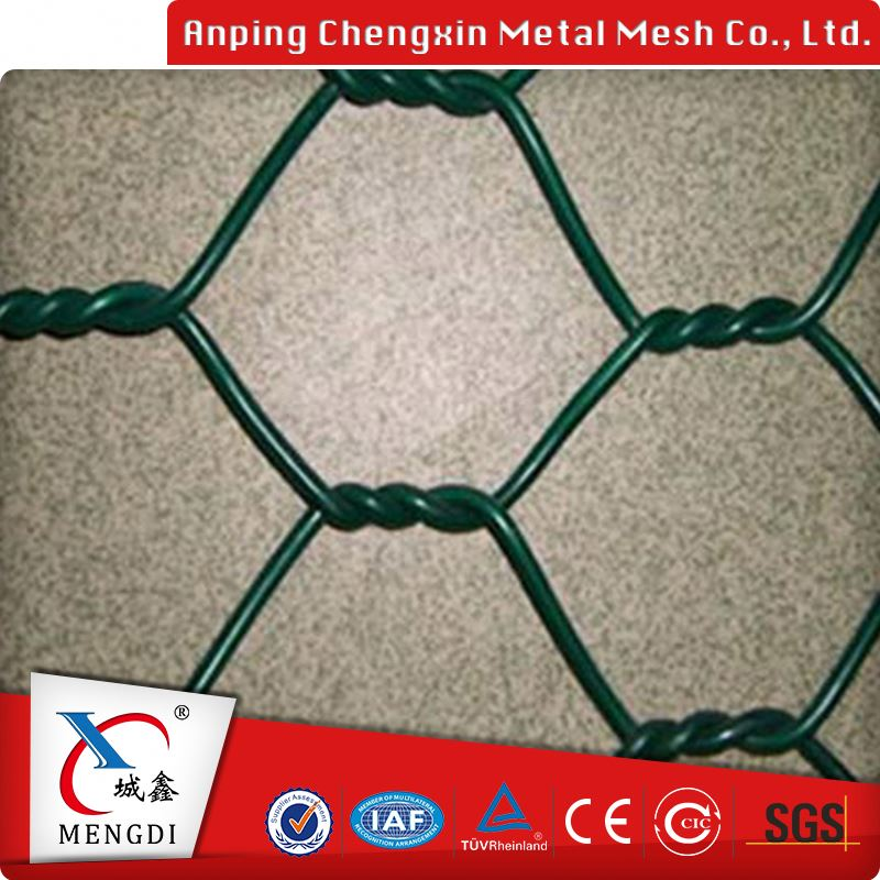 anping fireproof triple twist gabion hexagonal wire metal mesh