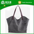 2017 Stock Manufacture Canvas Women Tote Bag