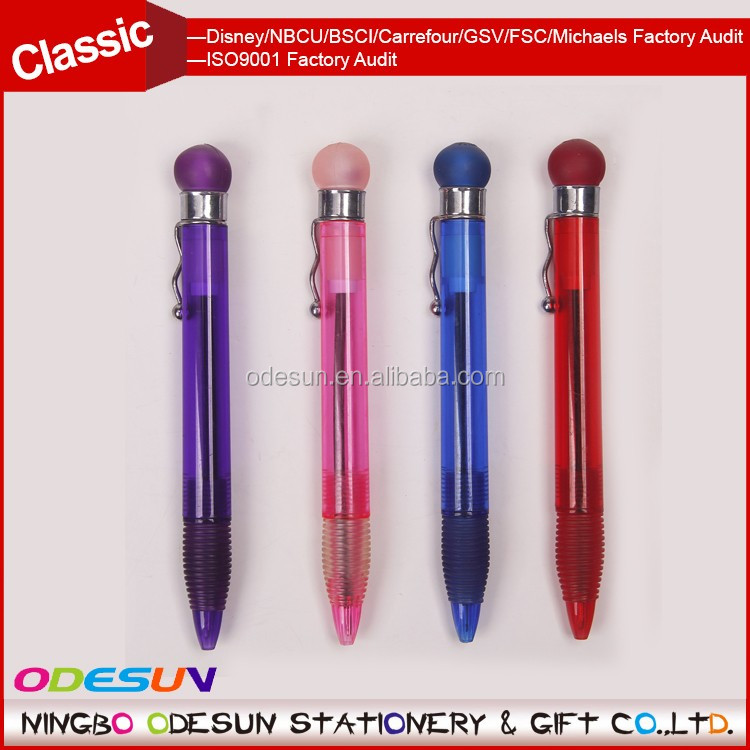 Universal NBCU FAMA BSCI GSV Carrefour Factory Audit Manufacturer Plastic Xiaomi Jumbo Refill Touch Pen