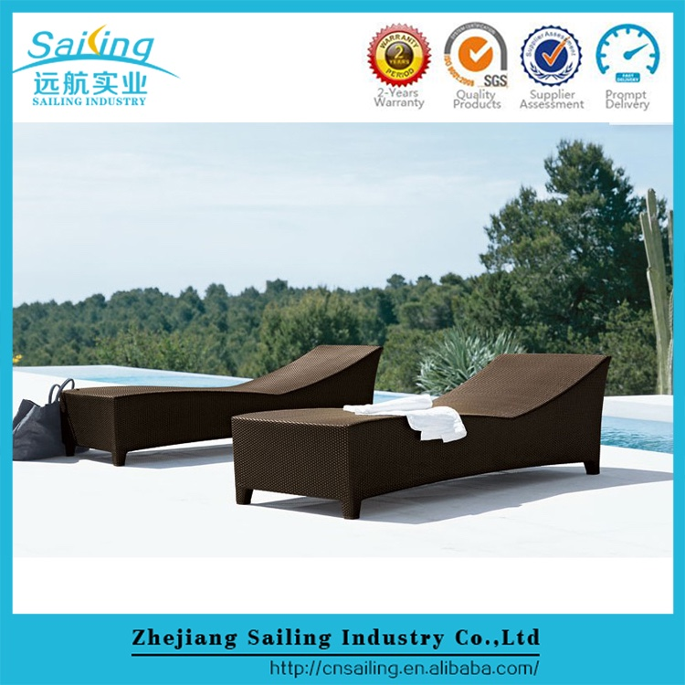 New Product Project Hotel Sun Portable Sleeping Chair Pool Chaise Lounge