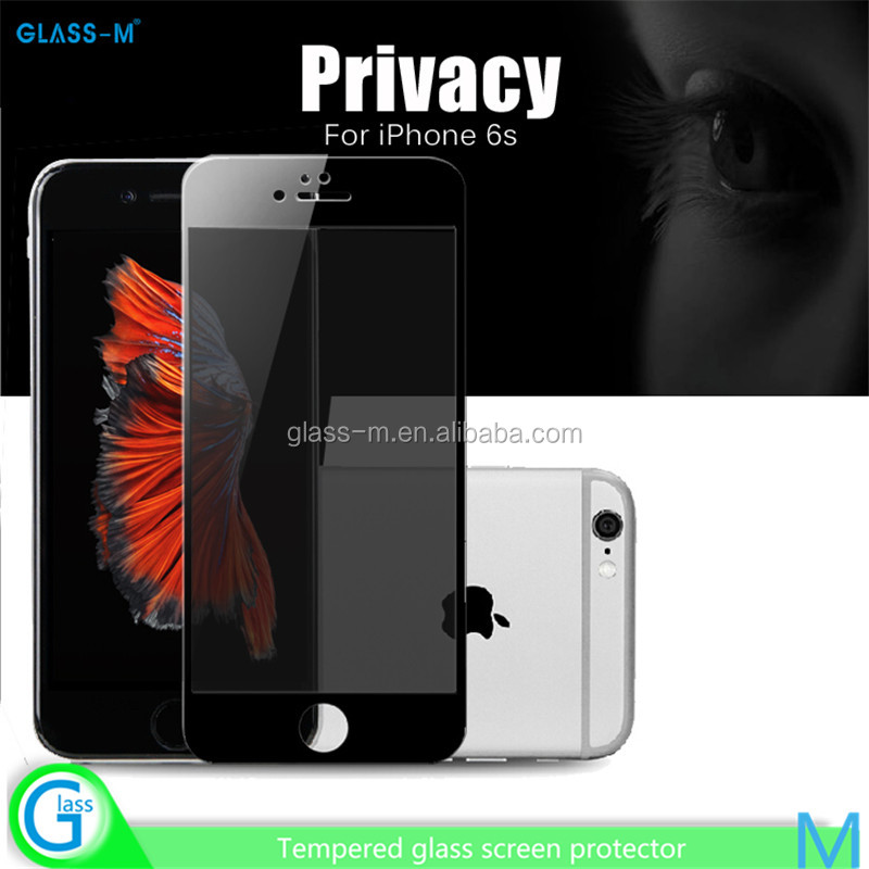 for iPhone6 Plus Smart Phone High Quality Wholesale Price Privacy Touch Screen Protector Film