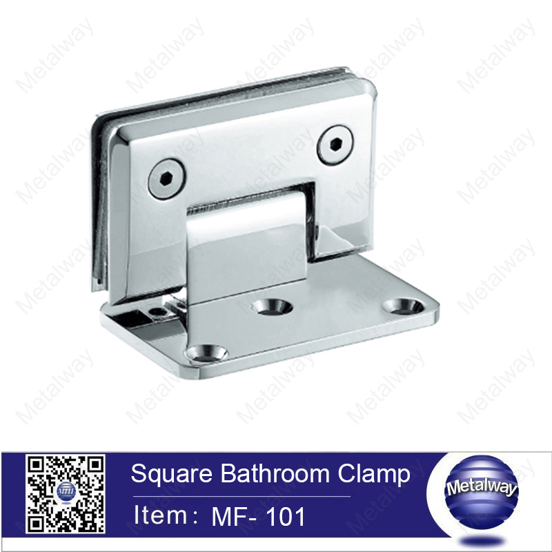 Bevel Circinal angle 90 degree Single heavy door hinge metal door hinge bathroom clamp