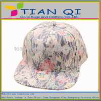 2015 fashion floral snapback hats fully covered with lace