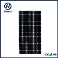 good quanilty 190 watt monocrystalline solar panel 24v with 72 cells