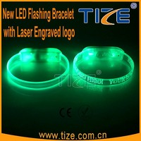 Christmas Party Favor LED Flashing Wristband