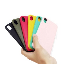 Eco-friendly Recycled Phone Case For iPhone 7 8 Plus X Xr Xs Max Cases Pla Degradable Biodegradable Mobile Cell Phone Covers