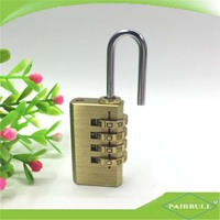 travelling necessary keyless hardened brass coded number lock