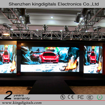 HD Stage Events Indoor P2 P3 P4 P5 P6 LED Stage Background Screen/LED Video Wall