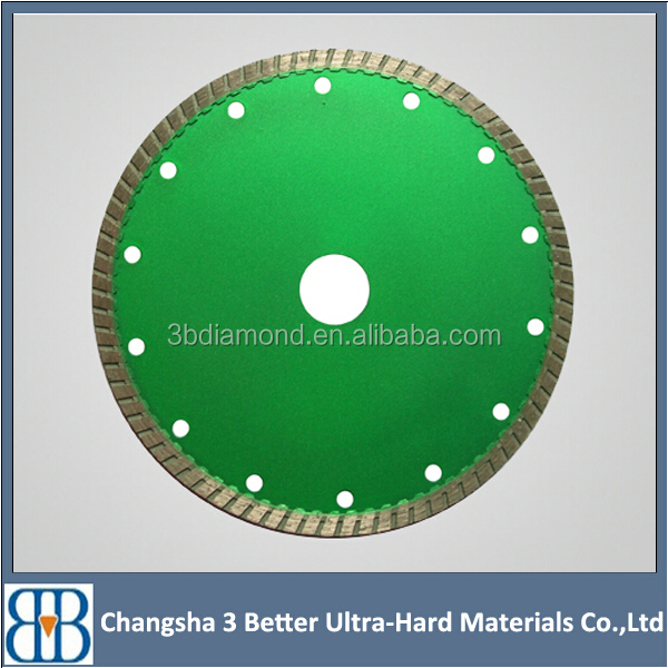diamond circular saw blade well used for machine concrete