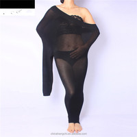 plus size big size opaque fitness women ladies sexy pantyhose tights