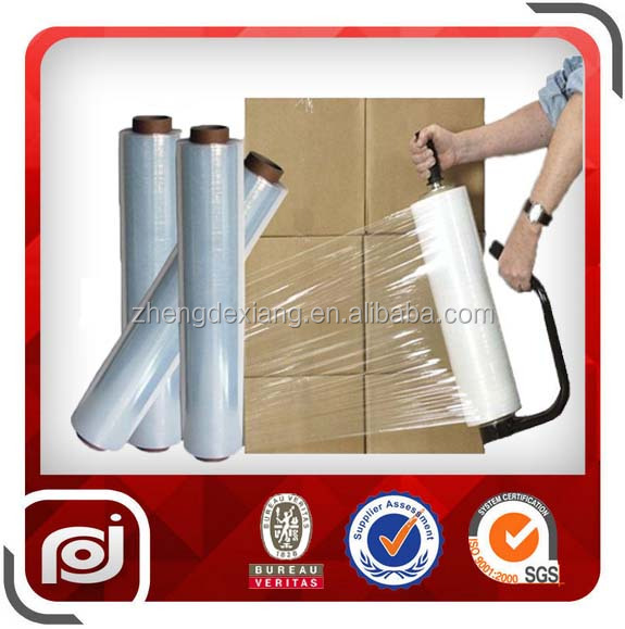 LLDPE Plastic pallet packaging manual stretch film
