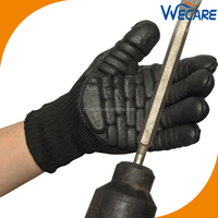 Impact Resistant Anti Shock Absorbing Working Vibration Reducing Gloves