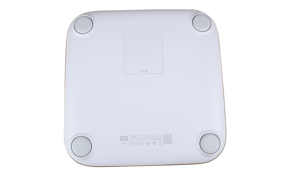 Original Xiaomi Scale Android 4.4 IOS Support Bluetooth 4.0 for Xiaomi Bathroom Digital Scale White Color