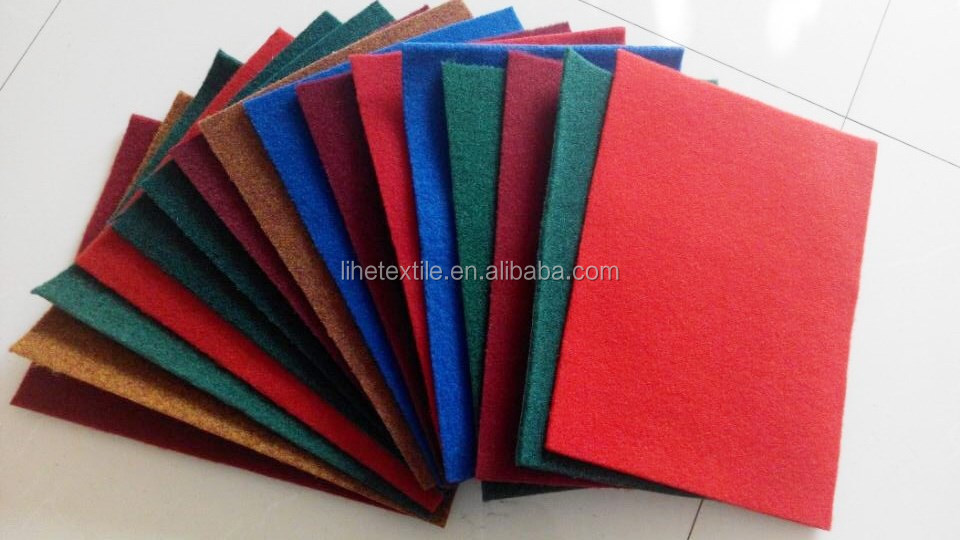 High quality Nonwoven velour floor carpet rolls