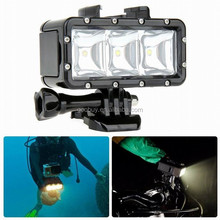 40M waterproof scuba diving light work for gopros underwater photography