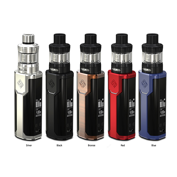 Wismec SINUOUS P80 2ml 80W electronic cigarette starter Kit with RDA tank