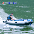 HIDER 3.6m aluminum seat PVC Inflatable Boat with motor