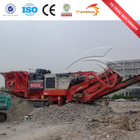 CHINA YUFENG professional manufacturer mobile jaw crusher