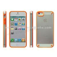 TPU+PC double color case for iPhone 5