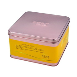 Food Grade Cover Packaging Tin Box for Food/Cookie/Candy/Egg Rolls