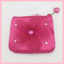 TULLE FLOWER SMALL COIN PURSE KIDS BAGS