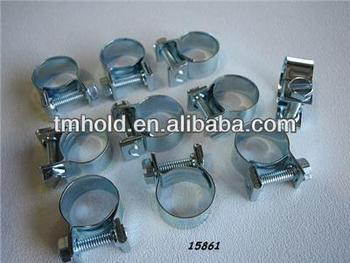 high pressure mini shaped alloy round tube clamps