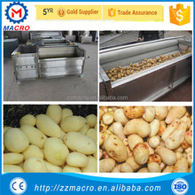 high efficiency washing and peeling machine for fruit and vegetable fruit peeler machines