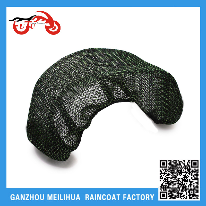 Cheap Price Stripes 3D Honeycomb Mesh Polyester Fabric Waterproof Heat Proof Scooter Bike Net Seat Cover