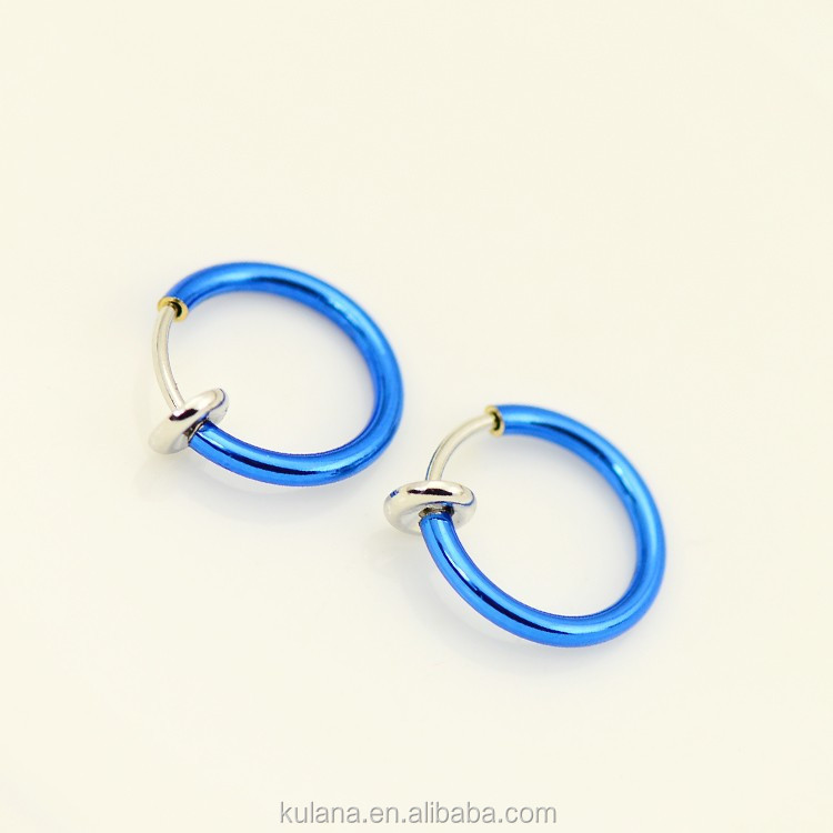 New Arrival Medical Nose Hoop Nose Rings Piercing Jewelry Fake Piercing Upper Ear Piercing Jewelry