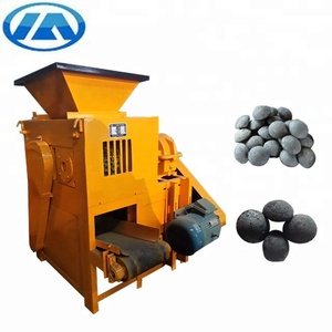 large capacity mineral powder/coal dust briquette making machine,ball shape