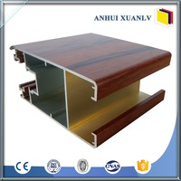 180mm Aluminum Curtain Wall Frame Extrusion