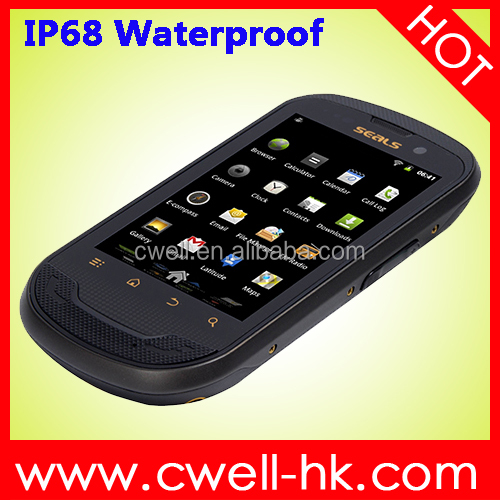Original SEALS TS3 IP68 Waterproof Rugged smartphone 3.5 Inch small size touch screen WIFI GPS clearance sale mobile phone