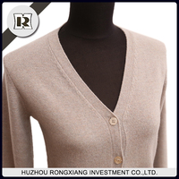 woman woolen cardigan sweater for winter autumn