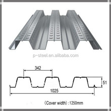 steel floor decking sheet supplier with high strength metal building materials