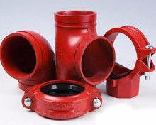 Pipe fitting Ductile iron concentric reducer grooved