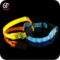 2016 Hot Sale China Pet Supplies Led Dog Collar Leashes