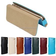 Hot sale Genuine leather Litchi parrent Holster Pouch Case For Samsung S6 Edge , for galaxy s6 edge case leather