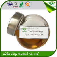 Chlopyrifos 50%+Cypermethrin 5% EC mixing combination pesticide