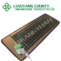 Korea popular heating jade & tourmaline massage high quality negative ions healthcare mat